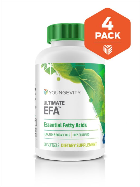 Ultimate EFA™ - 60 soft gels (4 pack)