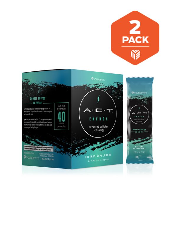 A.C.T. Energy On-The-Go 2 Boxes