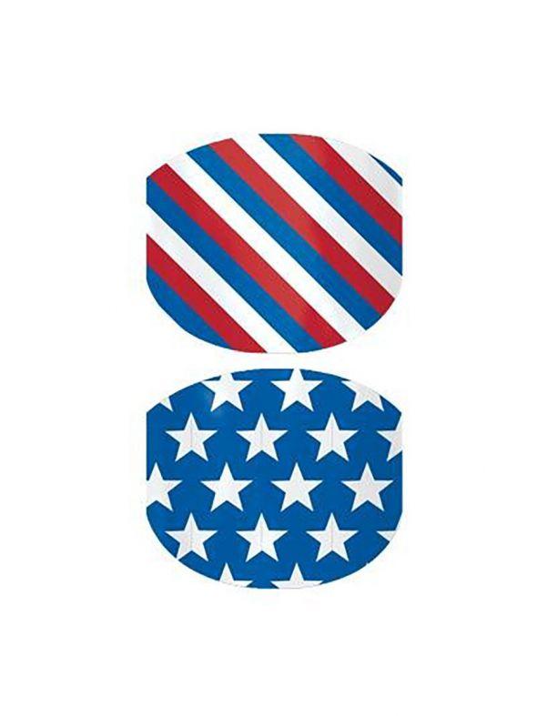 Little Patriot Jr - Nail Wrap
