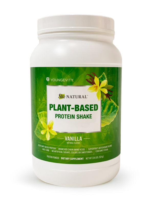 Sta-Natural® Plant-Based Protein Shake - Vanilla
