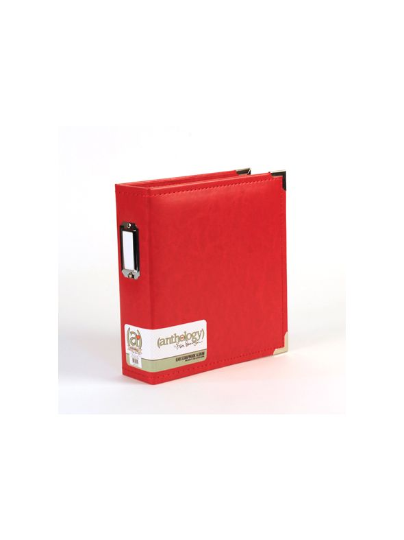 Anthology 6 x 8 Album - Red