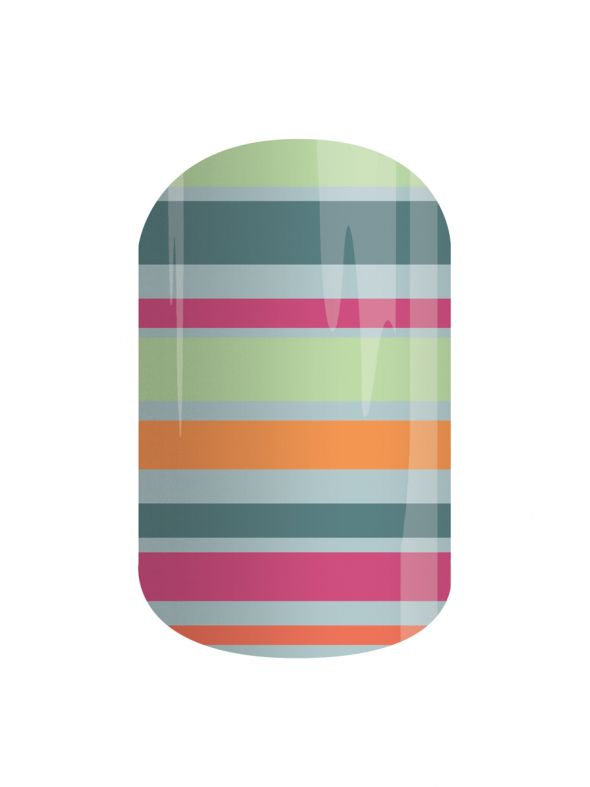 Color Coordinated - Nail Wrap