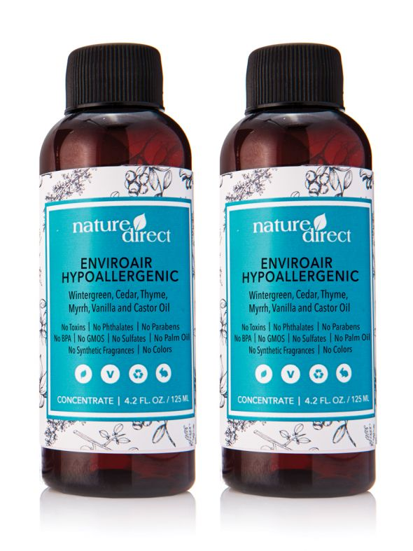 Nature Direct EnviroAir Hypoallergenic Formula Concentrate Bundle